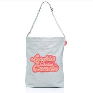NWT Benefit Laughter is the Best Cosmetic Tote Bag